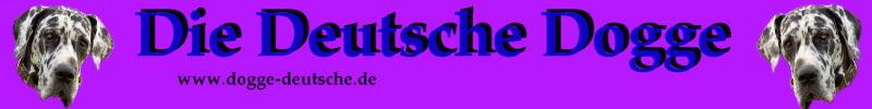 Wissenswertes zur  Hunderasse Deutsche Dogge